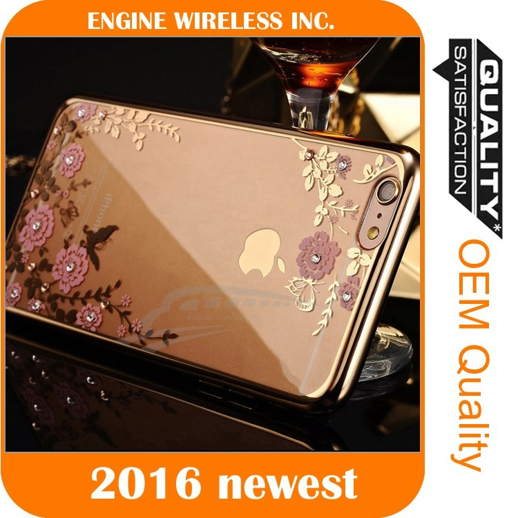 wholesale simple mobile phone case dot view case for iphone 6