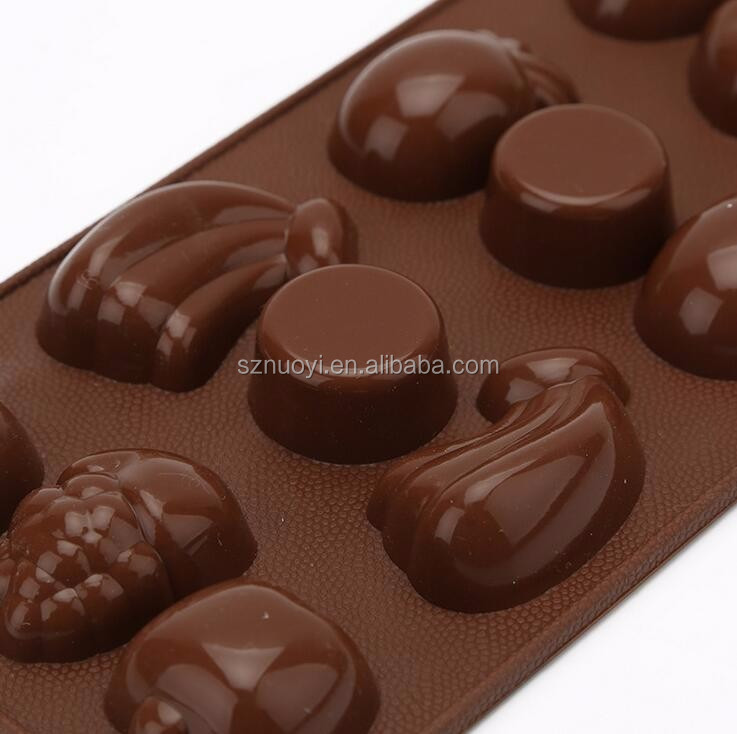 Fruit Shape Cake Decoration Tools Silicone Candy Chocolate ...