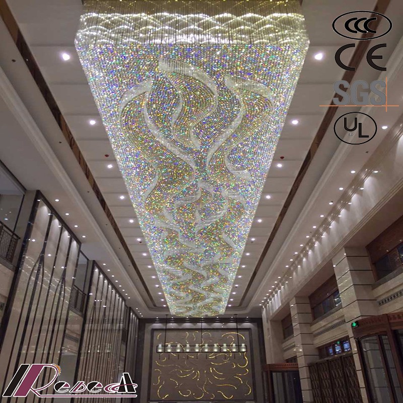 modern crystal ceiling mounted lamp glass chandelier pendant light for sale