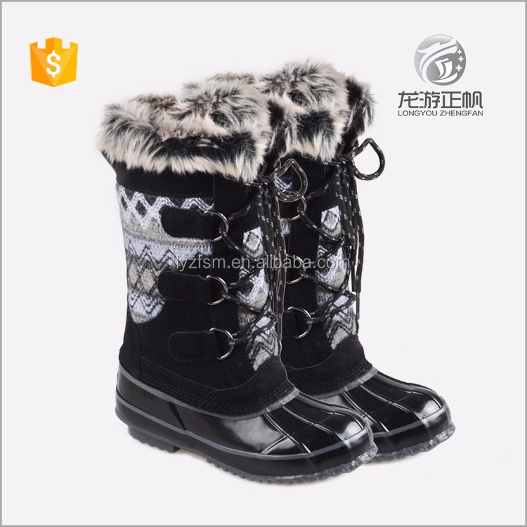 The latest girls flat heel winter hiking boots