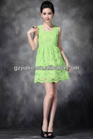 2013 new fashion ladies casual dresses evening summer chiffon lace wedding dress