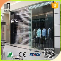 Australian standards Aluminum Glass Doors/window shutters/transparent roller shutter