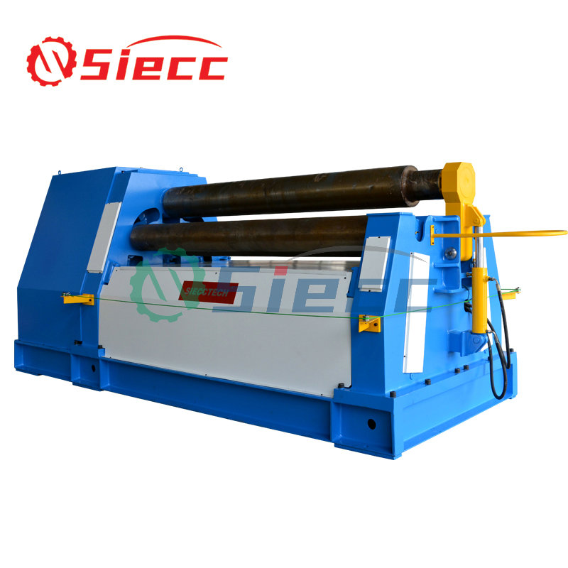 W12 12x2000 Hydraulic sheet metal plate rolling machine with 4 <strong>rollers</strong> bending