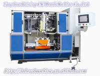 High Speed 5 Axis 3 heads CNC Drilling and Tufting Shoe Brush Machines/Broom Making Machine (2 drilling and 1 tufting)