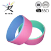 2015 New Product Factory wholesale different colors back training Yoga wheel