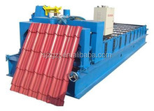 Aluminium profile 840 glazed tile roll forming machine used gutter machines for sale
