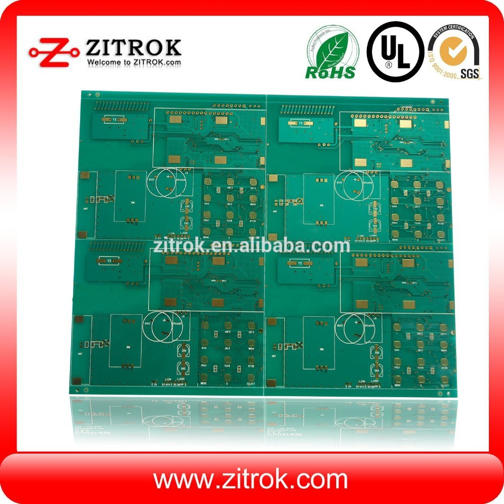 Tin-plated PCB Fabricate&Assembly with copper plugged vias special treatment