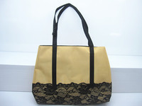 Bulk Buy Wholesale China Alibaba Bag Factory Stain Lace Tote Handbag Beach Bag Made in China