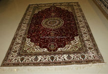 turkish handknotted 100% silk rug carpet for sale