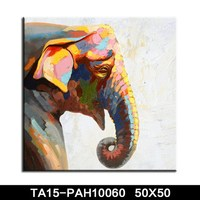 Wholesale High Quality Modern Handpainted Abstract Animal Canvas Art Oil Painting