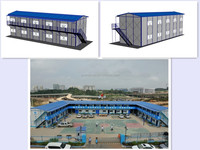 K16L08 china made low cost light steel frame structure apartment prefab houses and offices