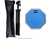 High Quality practice drum pad musical instruments with stand