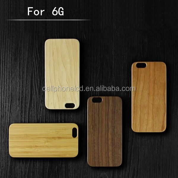 Top Quality Waterproof Wood Case for iPhone 6 6 Plus