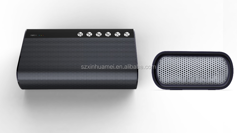 Portable NFC Bluetooth Wireless Speaker with 5 Drivers Built-in Subwoofer Bluetooth 4.0 super bass power bank buetooth speaker