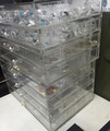 Acrylic Jewelry Box with 4 Drawers Clear Acrylic Jewelry Chest with Lid and Drawer
