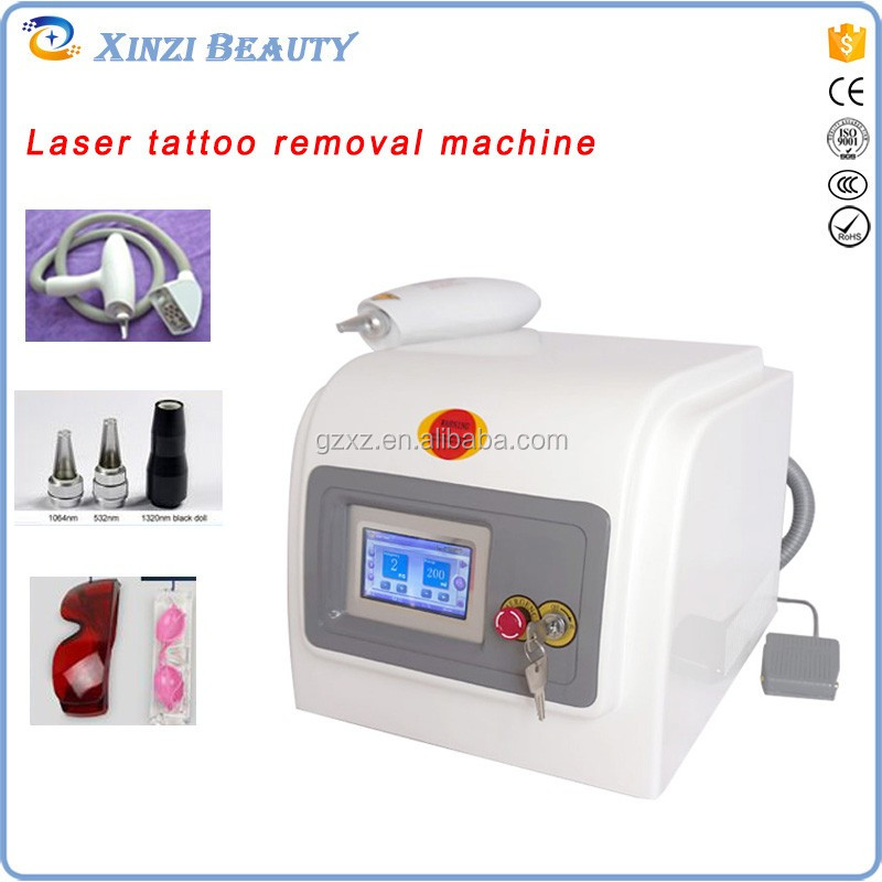 manufacturing q switch nd yag laser tattoo removal machine/q-switch nd yag laser tattoo removal victory