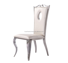 Wholesale luxury event gold stainless steel wedding chair high back banquet chairs Y8501