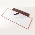 Custom paper cardboard foldable /folding flat pack gift boxes