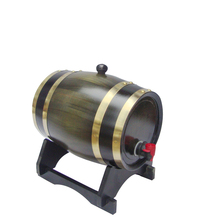 Top grade retro finished wooden whiskey barrel for sale