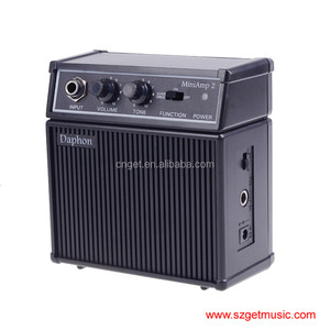 New Daphon Mini AMP 2 3W Electric Gutiar AMP Portable with Belt Clip