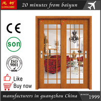 Luxurious 100% carved solid wooden doors in china