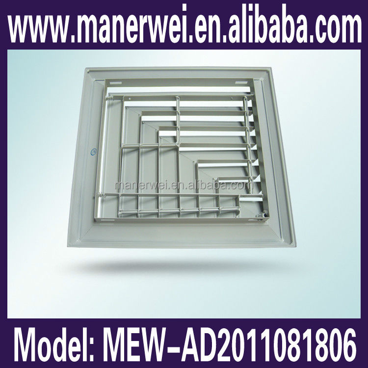 Exquisite Manufacturing Decorative Ceiling Reture Air Grille Diffuser linear slot air grille
