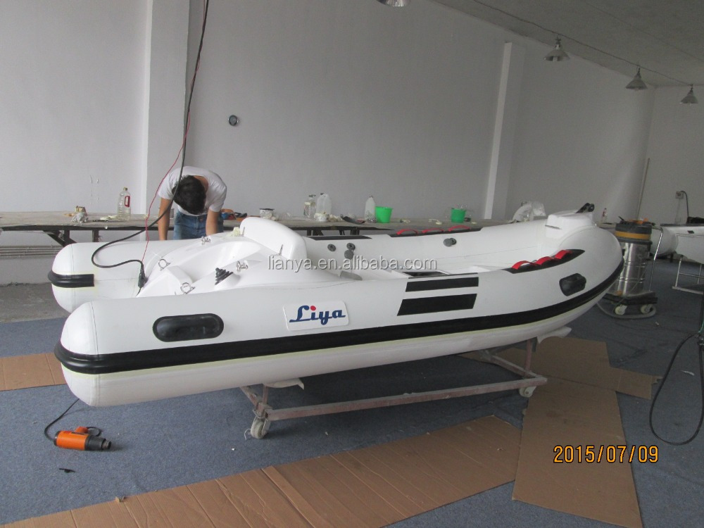 Liya mini rib boat 3.8m boat fishing turkey