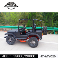 Best choice CE 150cc mini jeep willys with sound equipment for young son