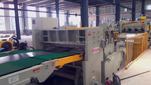 tinplate steel sheet coil shear cutting line