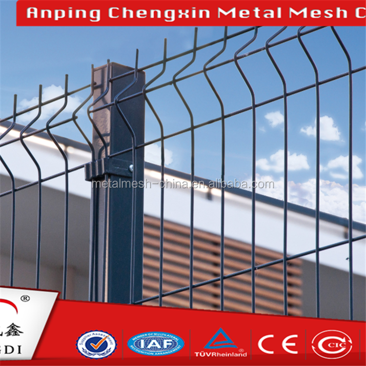 Alibaba 50mmx200mm V type welded factory fence