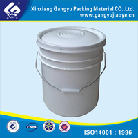 Industrial and construction usage plastic container 5 gallon plastic bucket