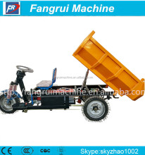 Modern Techniques bottom price dump rubbish motor tricycle with cabin