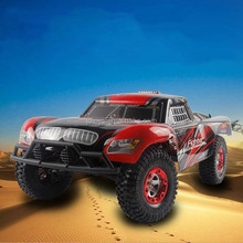 Drop shipping 2.4G 4x4 RC Toys Car Mini High Speed Big Wheels Remote Control RC Cars with Rechargeable Battery vs WLTOY for kids