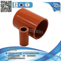 China high quality auto parts truck/car silicone rubber radiator expandable hose