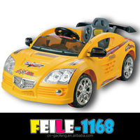 electric mini car with one seat,MP3 .light.RC. for 2-3 years old