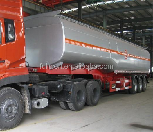 2 axles 30 curb weight small fuel tank trailer