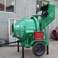 trade assurance used self loading mobile concrete mixer