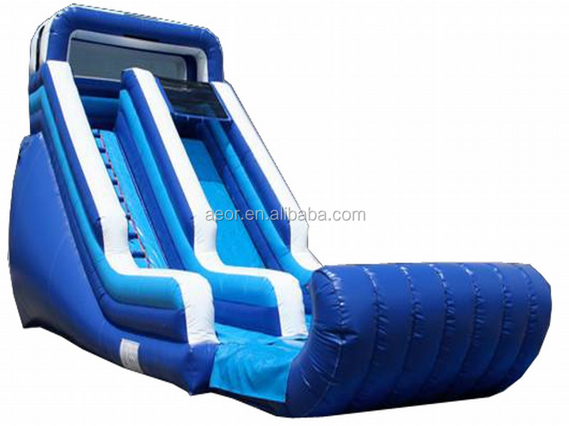 cheap kids swimming pool with slide/inflatable water slide for sale