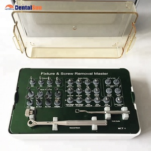 FSRK-02 Dental Fixture & Screw Removal Master Kit/Dental Implant Kit