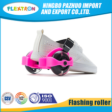 New Design 2 PVC/PU Wheels adjustable flashing roller skates With Led Light