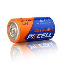 Shelf Life 10 Years 1.5v C Size Alkaline Batteries LR14 AM2 R14 Cell Dry Battery