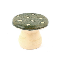 Personalized Hand Painted Decorative Artificial Mini Poly Resin Garden Mushroom Table