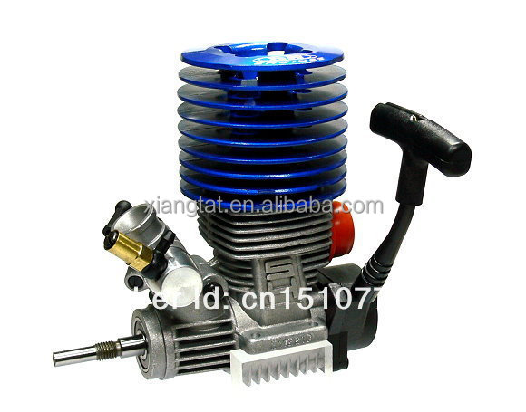1/8 Nitro Race Engine SH 21 RC Blue Nitro Engine 3.48cc M21-P3 RC Car Buggy Truck Truggy EG635