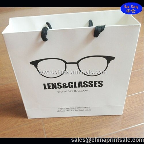 2015 China good quality & cheap price glasses package paper bag