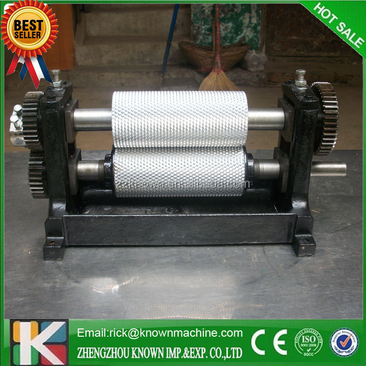 beeswax comb foundation roller mill