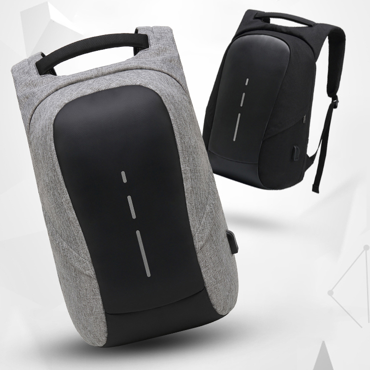 2018 Latest Fashion Anti theft laptop backpack with USB charging port waterproof business travel backpack for men women
