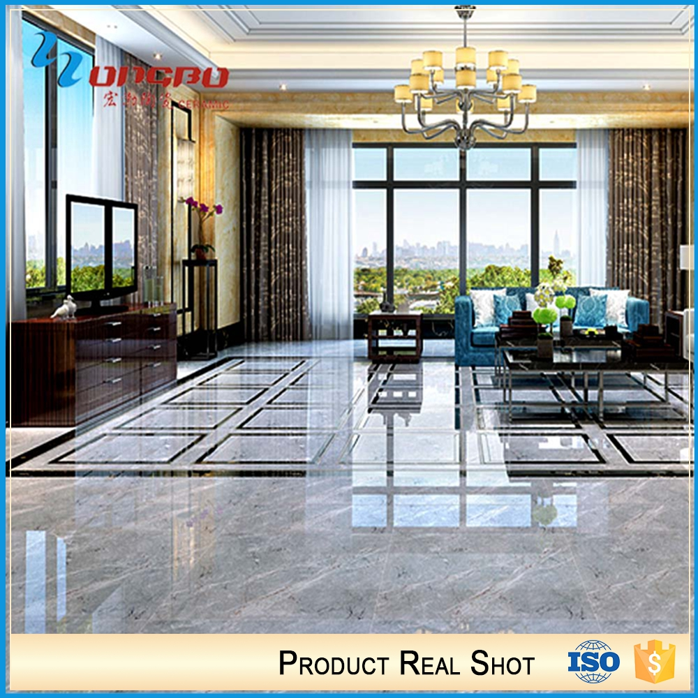 600 x 600 800 x 800 mm Vitrified polished glazed porcelain tile with low price