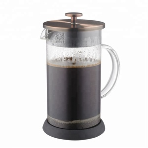 1000 ML , 34 OZ Copper Stainless Steel French Press , Coffee Plunger, Coffee Maker