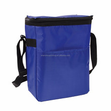 Popular hot sale convenient portable shoulder polyester or nylon lunch picnic thermal insulated keep warm cool cooler hand bag