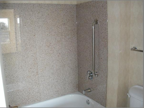 Charmant Artificial Marble Stone Bathtub Wall Surround Panels